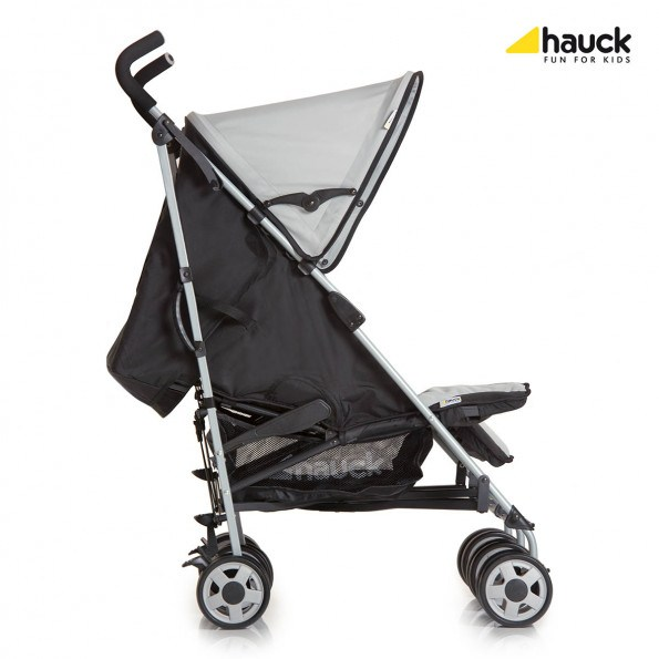 Hauck Turbo Duo - Caviar/Stone Sittvagn