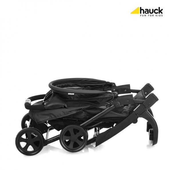 Hauck Shopper Neo II - Caviar/Silver Sittvagn