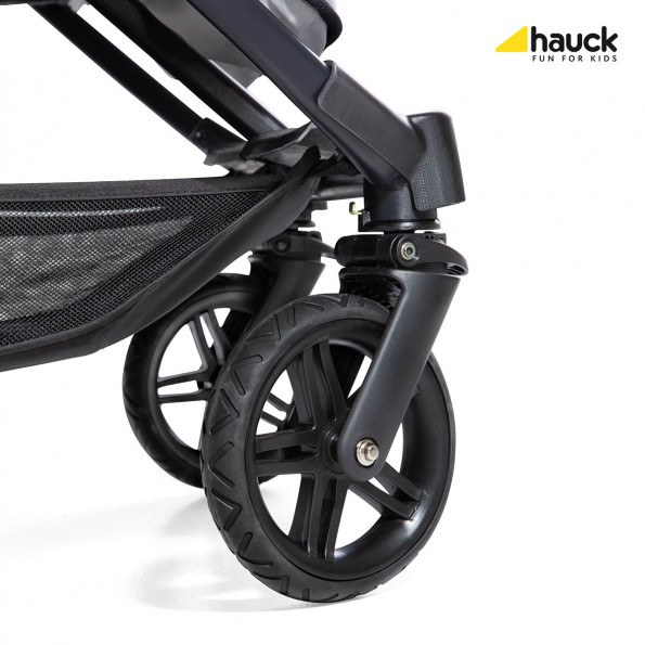 Hauck Rapid 3R Duo - Silver/Charcoal Sittvagn