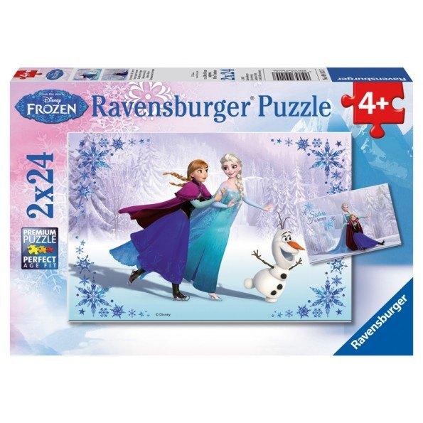 Ravensburger Pussel - Frozen Sisters Always