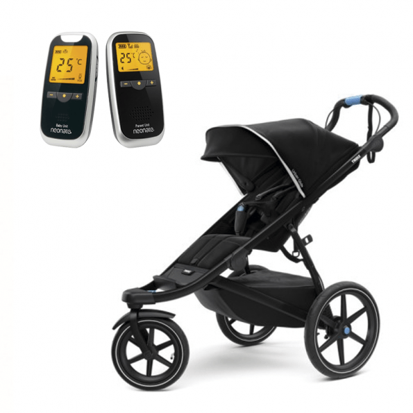 Thule Urban Glide 2 Sittvagn Svart + Neonate 5800 Babyvakt