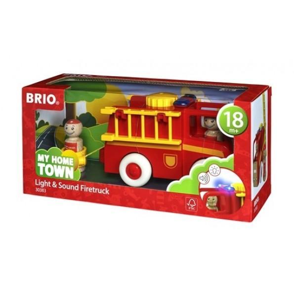 BRIO  Brandbil Med Ljud och Ljus
