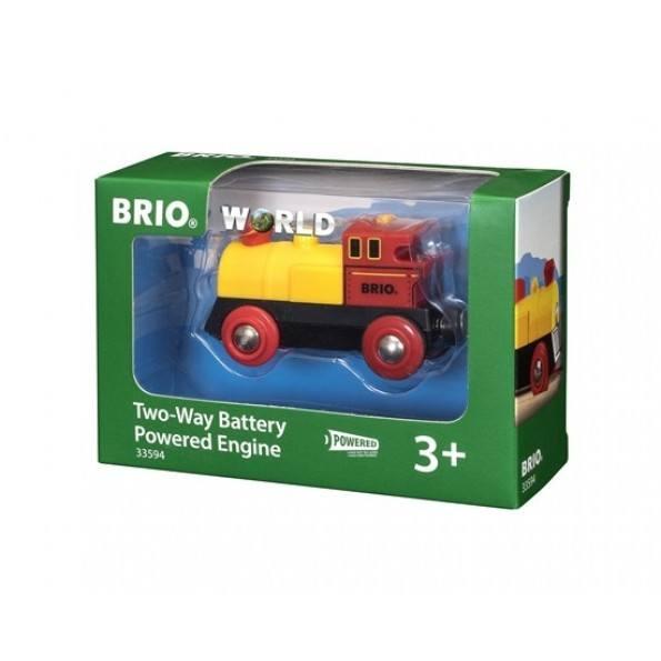 BRIO Tvåvägslokomotiv Batteridrivet