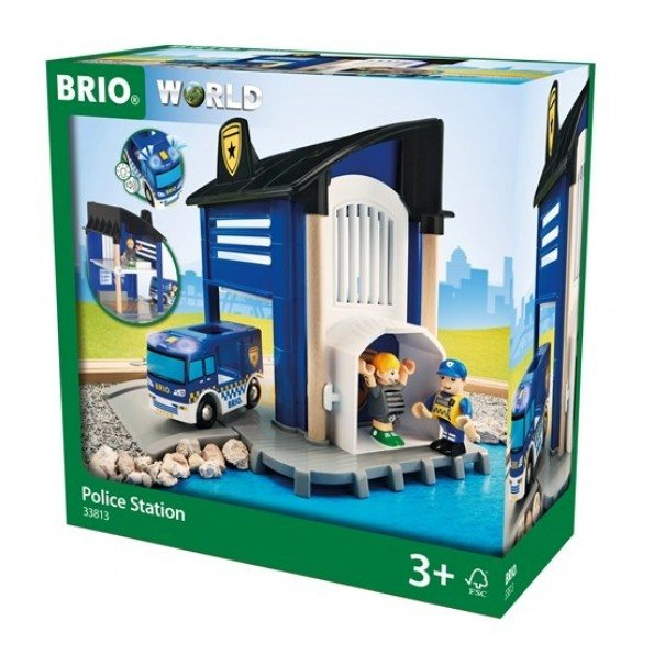 BRIO Polisstation- 33813