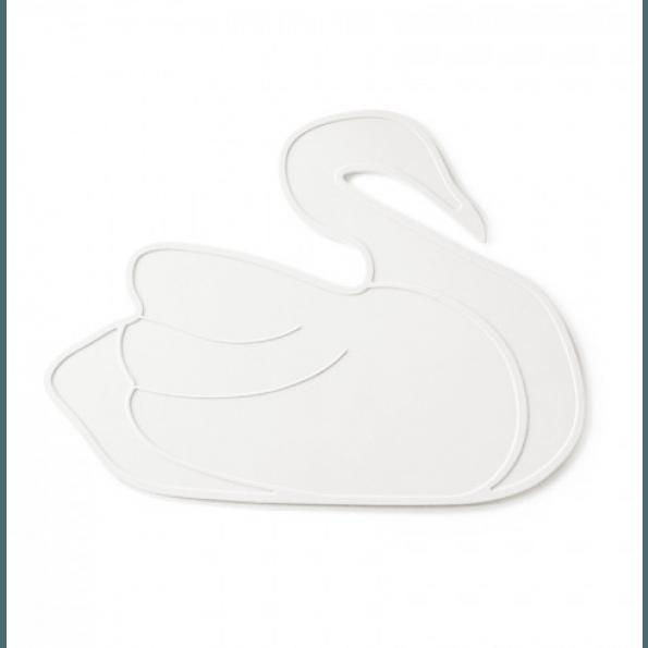 By Lille Vilde Swan Bordsunderlägg - Vit