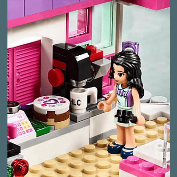 LEGO Friends Emmas Konstcafé