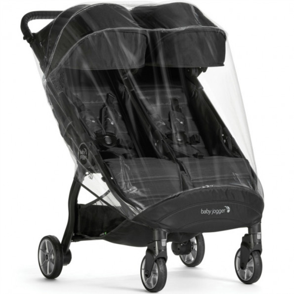 Baby Jogger regnskydd double - City Tour 2 Double