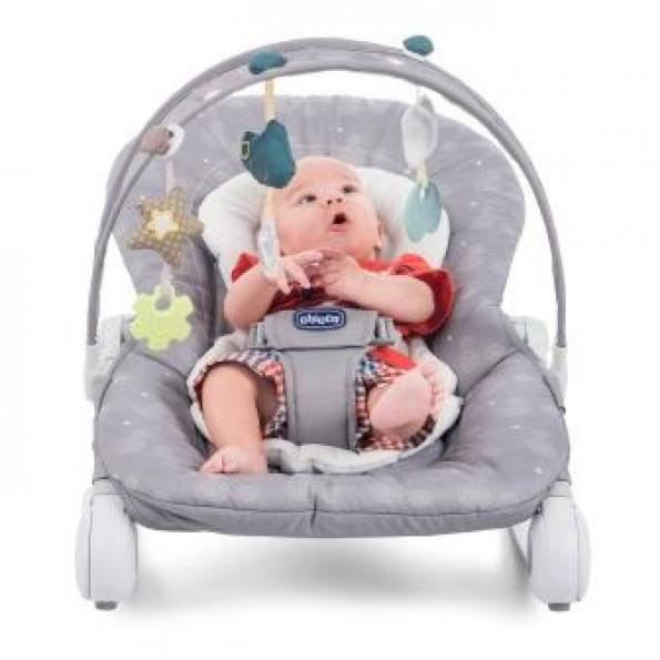 CHICCO Hoopla Bouncer recliner - Stone