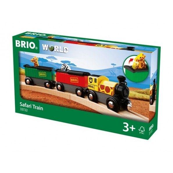 BRIO Safaritåg