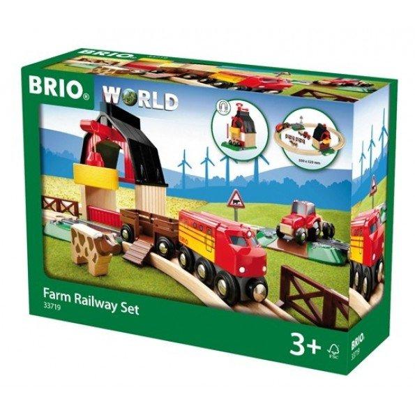 BRIO Bondgårdstågset