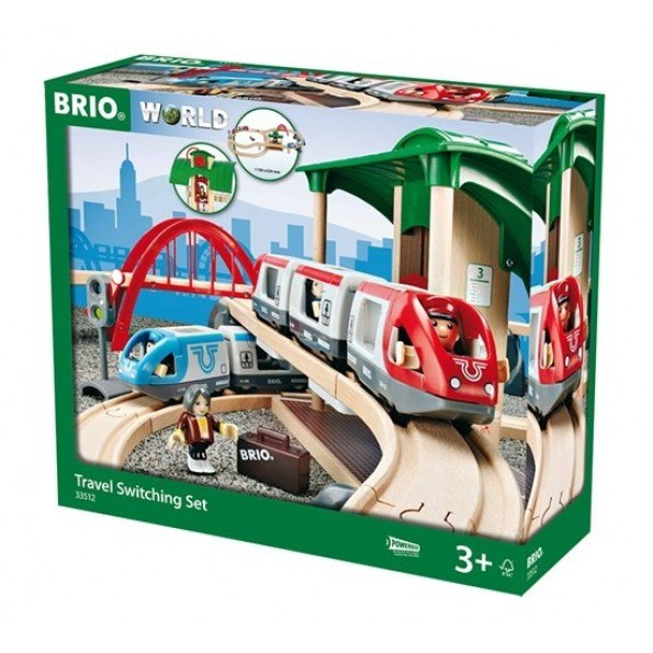 BRIO Stora Persontågsetet