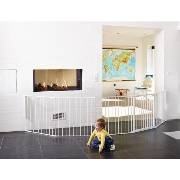 Baby Dan Flex XXL Säkerhetsgrind - Vit