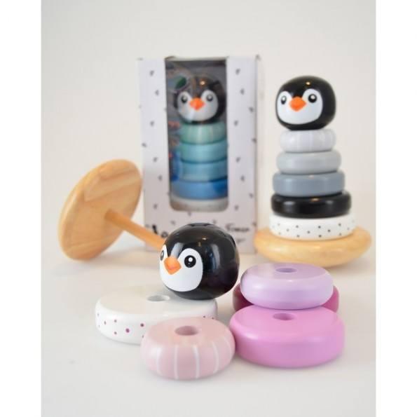 Magni Stapeltorn Pingvin - Rosa