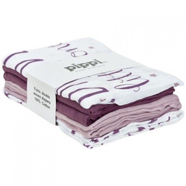 Pippi Tygblöjor (6 pack) - Violet Ice