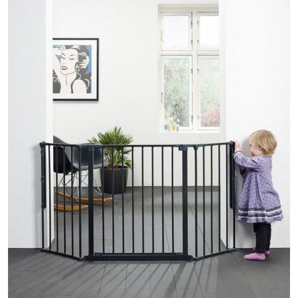 Baby Dan Configure Flex M Säkerhetsgrind - Mörk Grå