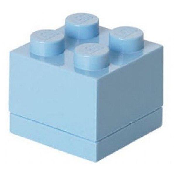 LEGO Matlåda 4 - Ljusblå