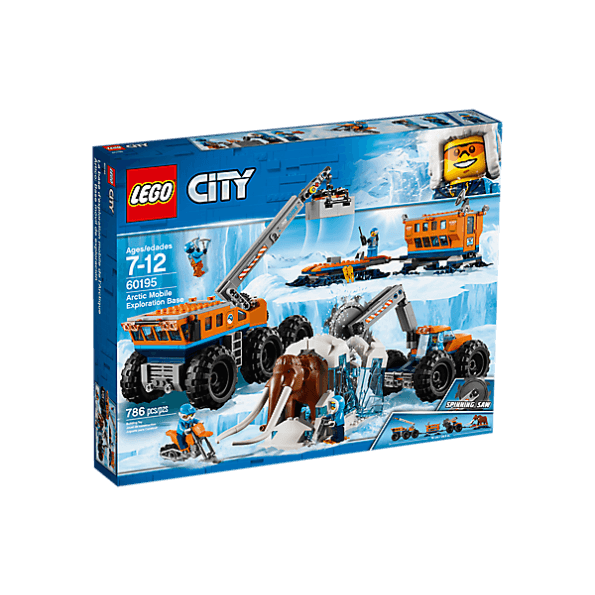 LEGO CITY - Mobil polarforskningsbas - 60195