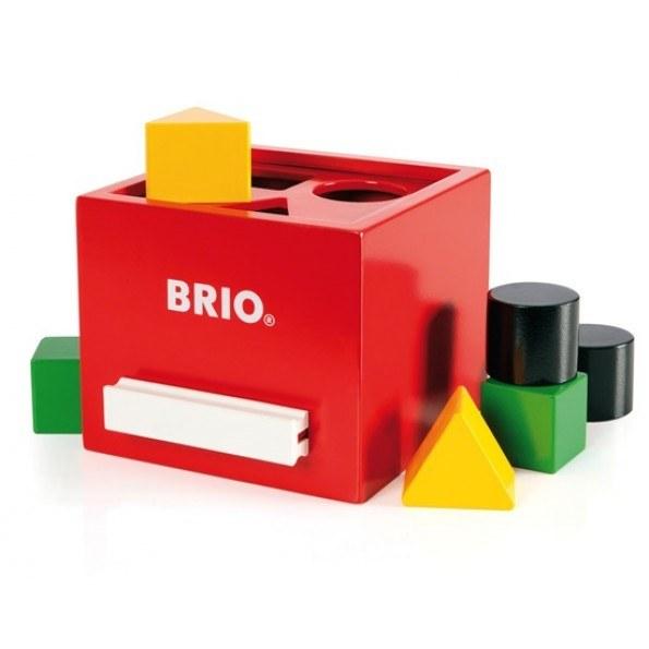 BRIO Plocklåda - Röd