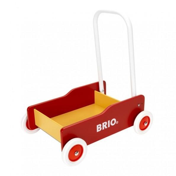 BRIO Lära-Gå Vagn - Röd
