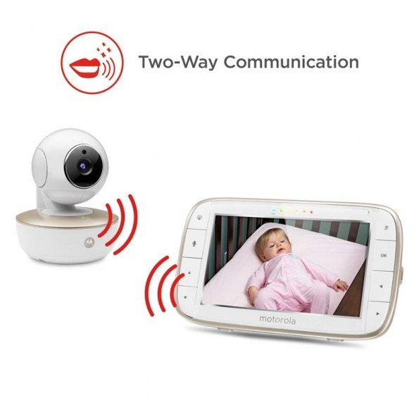 Motorola Wi-Fi MBP855 Babyvakt