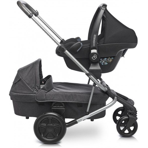 Easywalker Harvey Kombivagn - Coal Black