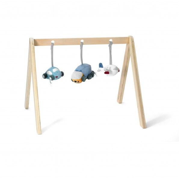 Kids Concept Aktivitetsställ - Natur trä