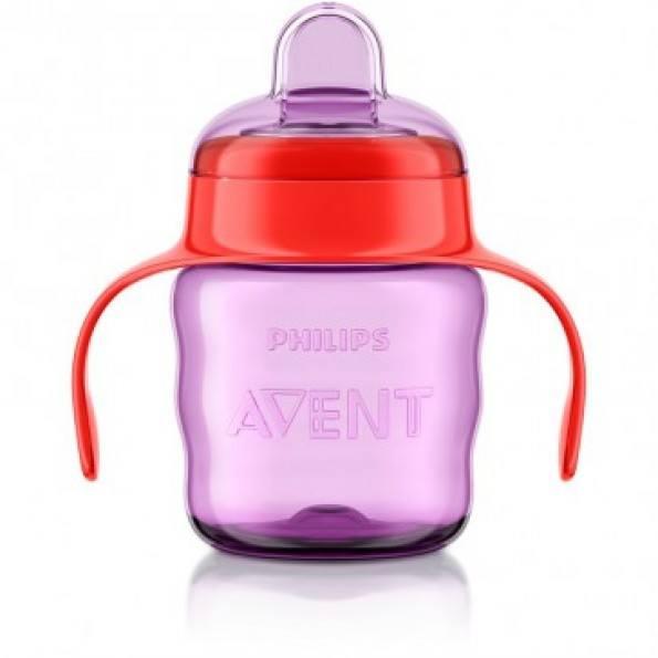 Philips Avent Classic Kop m/drikketud 200 ml. til piger