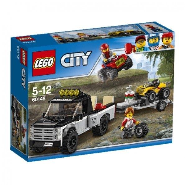 LEGO City (60148) Fyrhjulingsracerteam