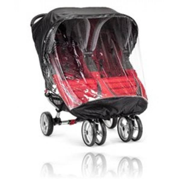 Baby Jogger Regnskydd City Mini Double/City Mini GT Double