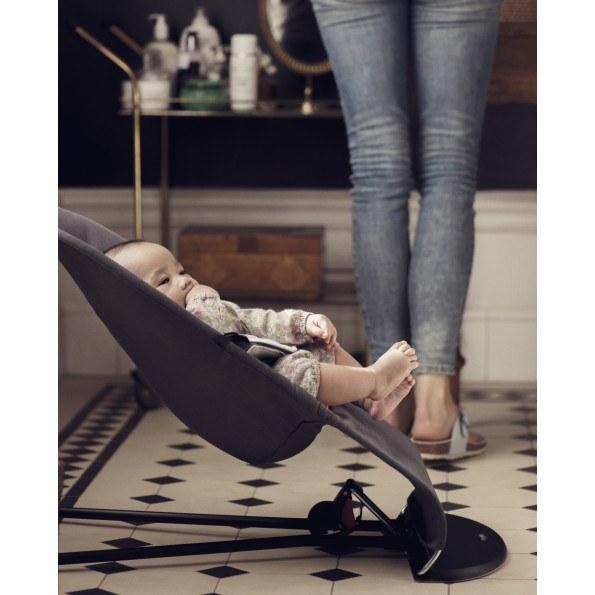 BABYBJÖRN Balance Soft bouncer - Dark Grey/Grey, Cotton/Jersey