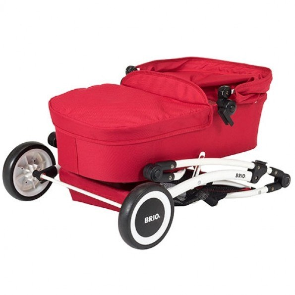 249000 - BRIO Dockvagn - Röd