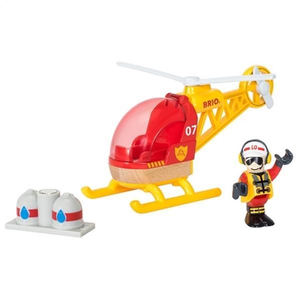 BRIO Räddningshelikopter