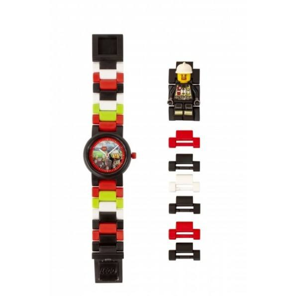 LEGO City Armbandsklocka - Brandman