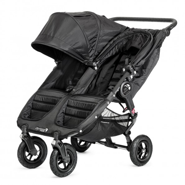 Baby Jogger City Mini GT Double - Stålgrå