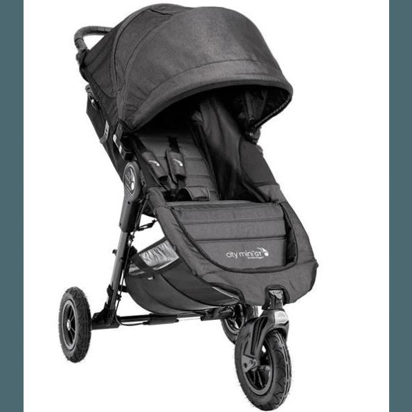 Baby Jogger City Mini GT - Mörkgrå/Denim