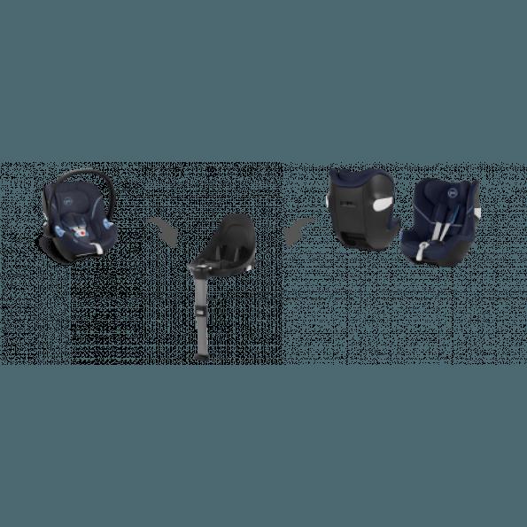 Cybex Aton M bilbarnstol- Deep Black 2020