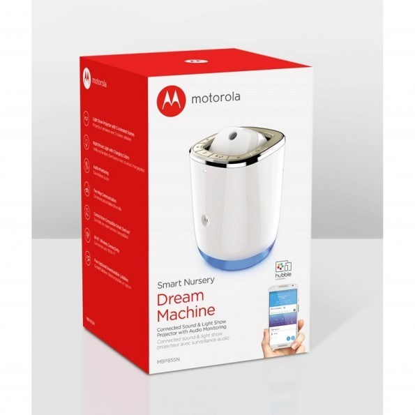 Motorola MBP85SN Babyvakt Med Projektor