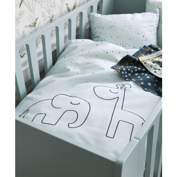 Done by Deer Babysängkläder, Dreamy dots, blå