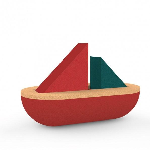 Elou Segelbåt, Babyleksak