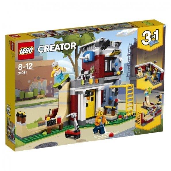 LEGO Creator Skateboardhus