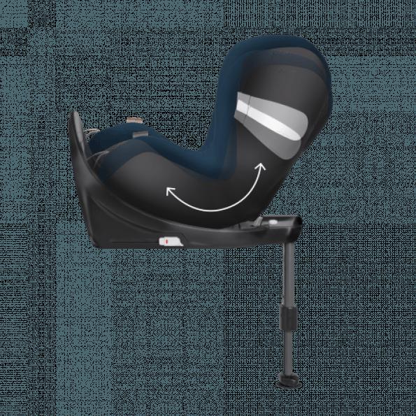 Cybex Sirona M2 i-Size - Urban Black Bilstol