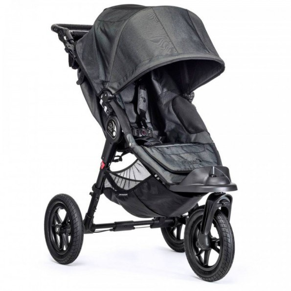 Baby Jogger City Elite - Mörkgrå/Denim