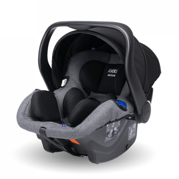 Axkid Modukid Infant bilstol - grå