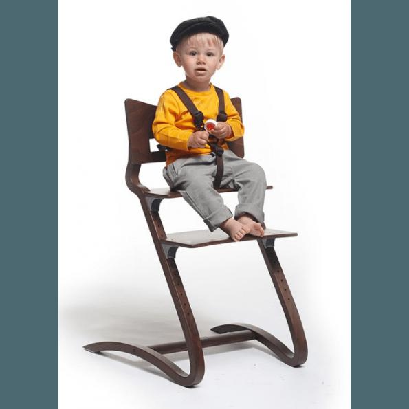 LEANDER Barnstolssele - Brun