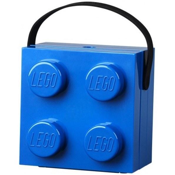 LEGO Matlåda Med Handtag - Blå