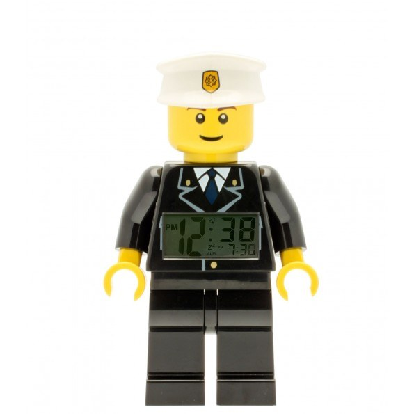 LEGO City Väckarklocka Figur - Polis