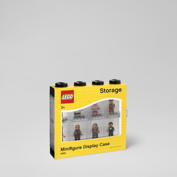 LEGO Minifigurer Display Case - 8 Figurer - Blå