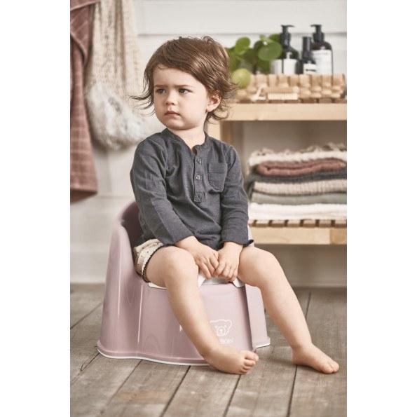 Baby Bear potta stol - rosa
