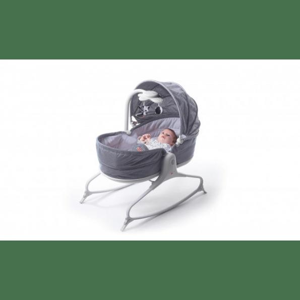 TINY LOVE 3-i-1 mysig rocker Napper babysitter - grå