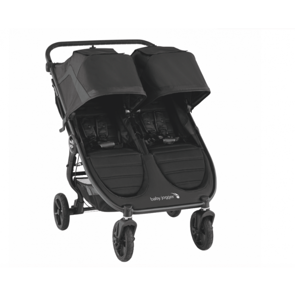 Baby Jogger City Mini GT 2 Double + 2 Prams - Jet